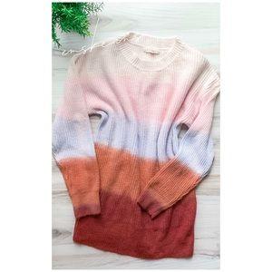 Vici   Gradient Colorblock Sweater